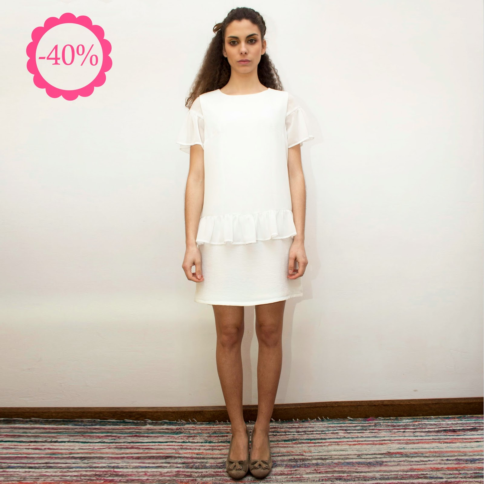 Vestido blanco, La Böcöque, Verano 2014