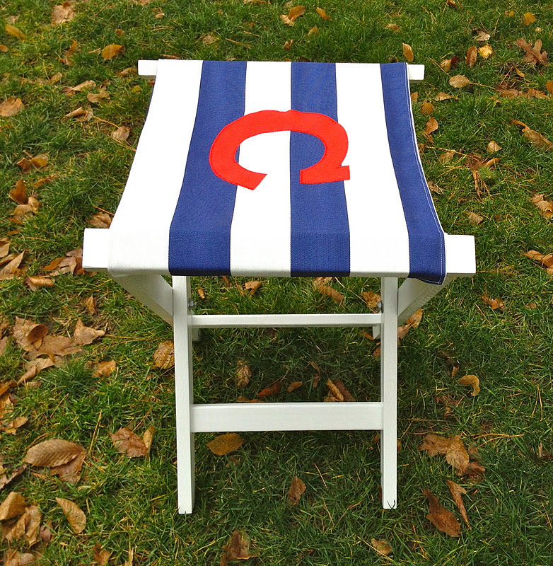 Rei Folding Beach Chair Old Fashioned Lawn Chairs That's My Letter: Diy Stool With Canvas Seat