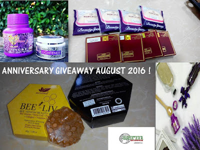 AUGUST ANNIVERSARY GIVEAWAY