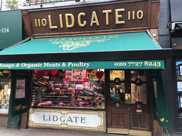 Lidgate butchers, Holland Park Avenue, London