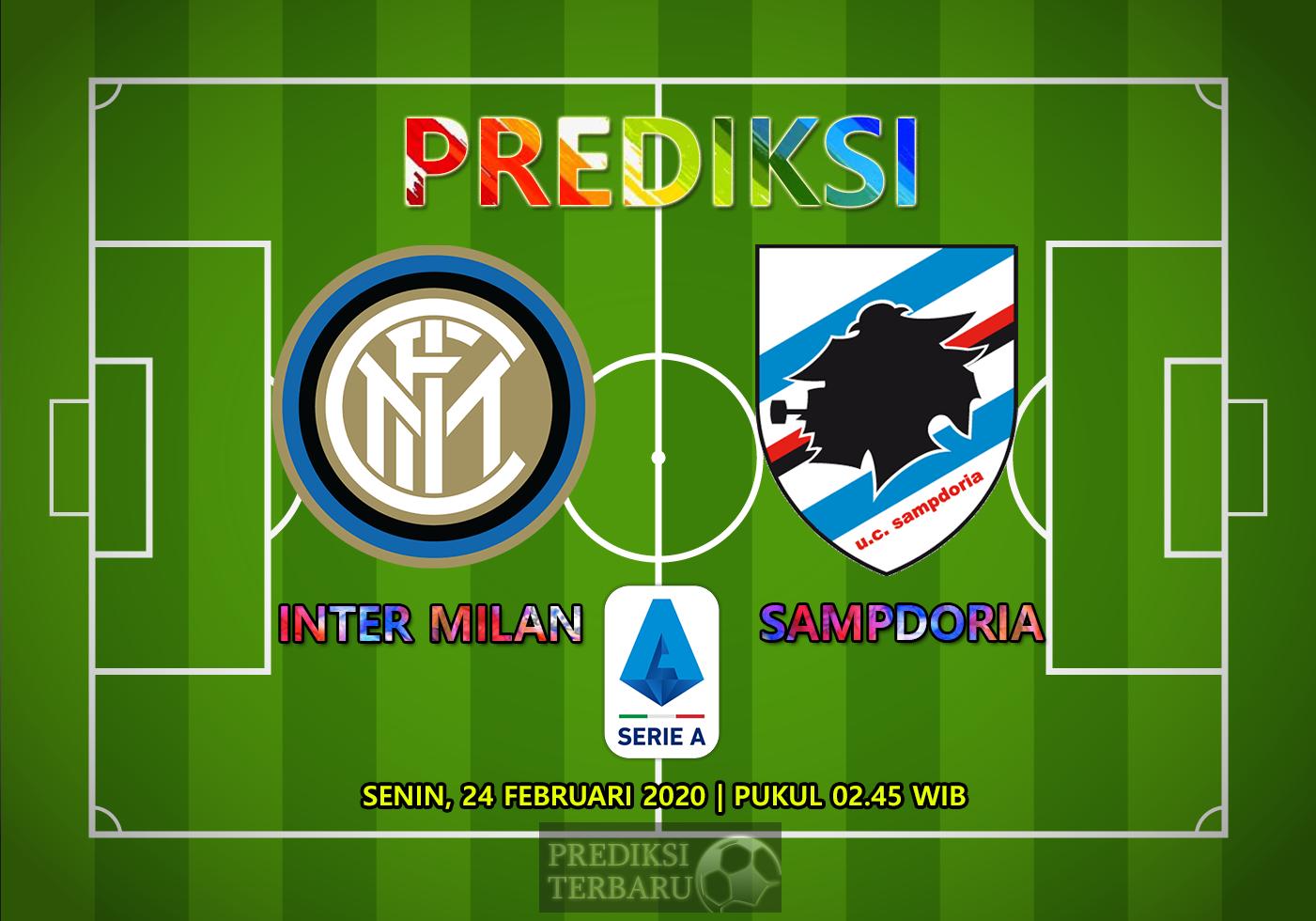 Prediksi Inter Milan Vs Sampdoria, Senin 24 Februari