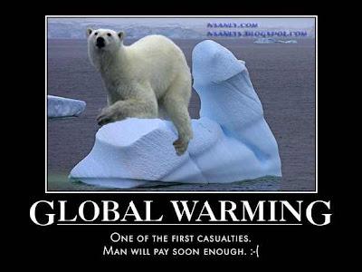 Nsaney'z Posters II: Global Warming: Polar Bear on melting ...