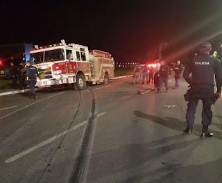 Bombeiro dirige em alta velocidade a caminho da Esplanada e é preso; veja vídeo