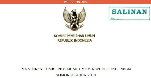 PKPU No. 9 Tahun 2019
