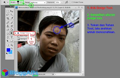 Cara Mencerahkan Wajah dengan Photoshop