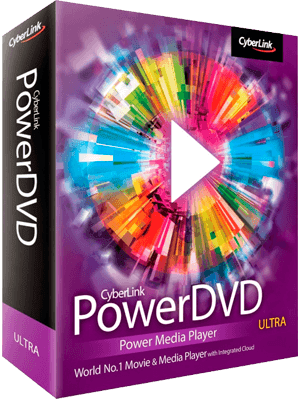 CyberLink PowerDVD Ultra box