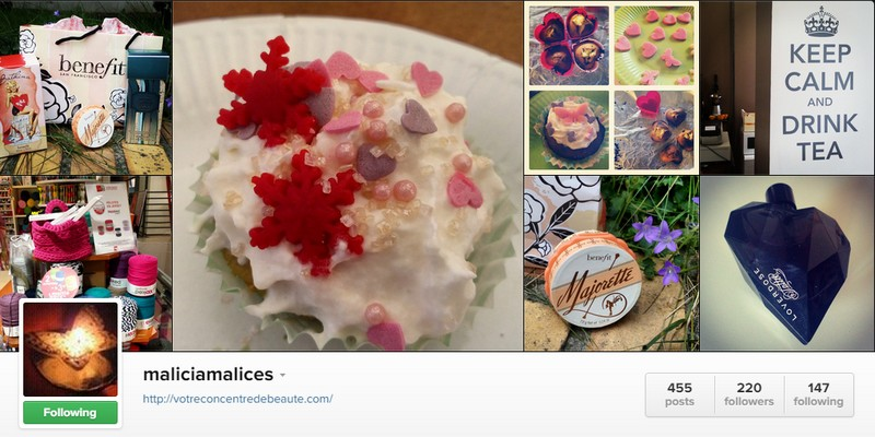 Instagram @maliciamalices