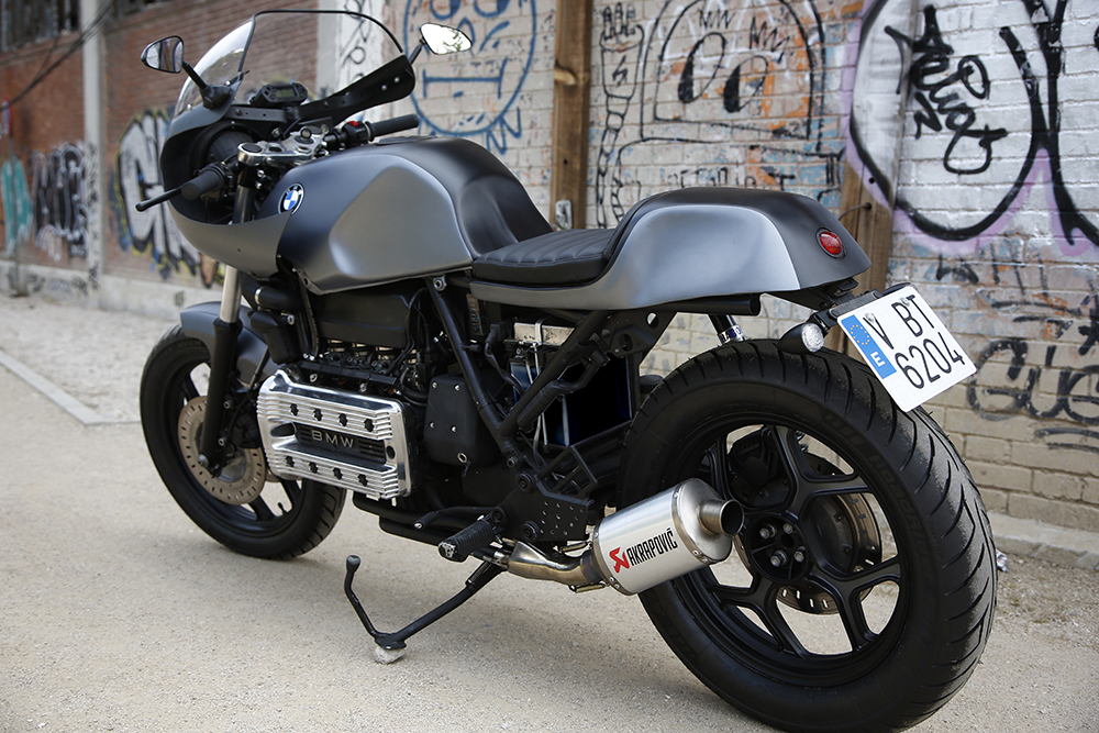 nitro cycles bmw k100 cafe racer return of the cafe racers. Black Bedroom Furniture Sets. Home Design Ideas