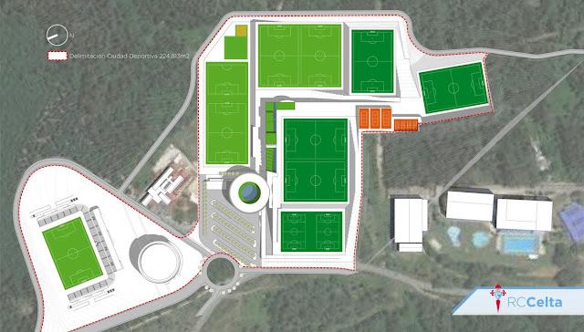 Fotos as son los tres proyectos de la nueva ciudad for Puerta 8 ciudad deportiva