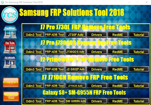 TCS Samsung FRP Solutions Tool 2018 Free Download