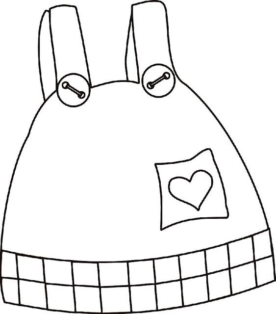 Gambar Kartun Pakaian Anak