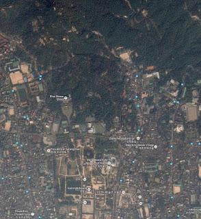 En el mapa satelital de Google la Oficina del Presidente de Seúl sí aparece