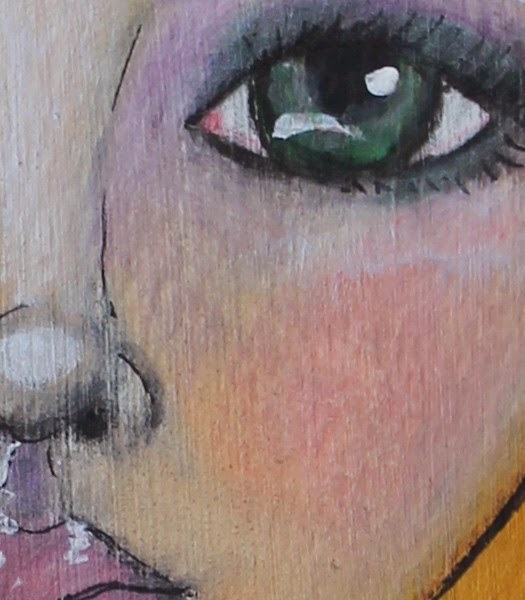 A Little Bird Told Me by Tori Beveridge Close up 3