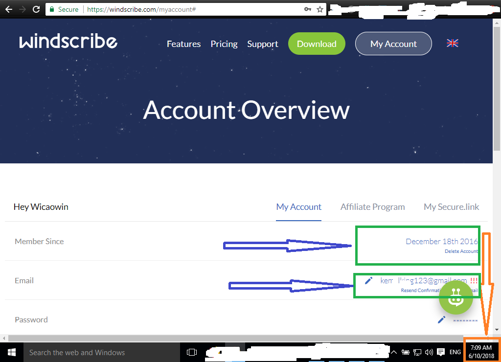 Windscribe Account Sharing | Windscribe Username and
