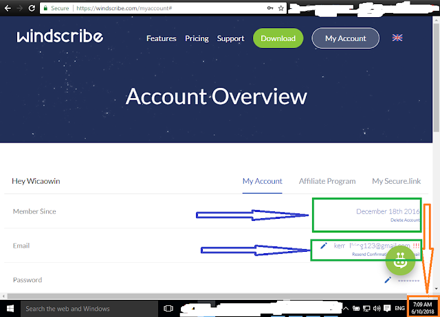 Windscribe Account Sharing
