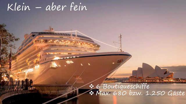 Boutique-Schiffe von Oceania Cruises (C) Multicruise
