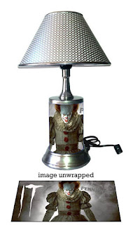 Stephen King It, Pennywise lamp, Stephen King It Gifts and Merchandise, Stephen King Store