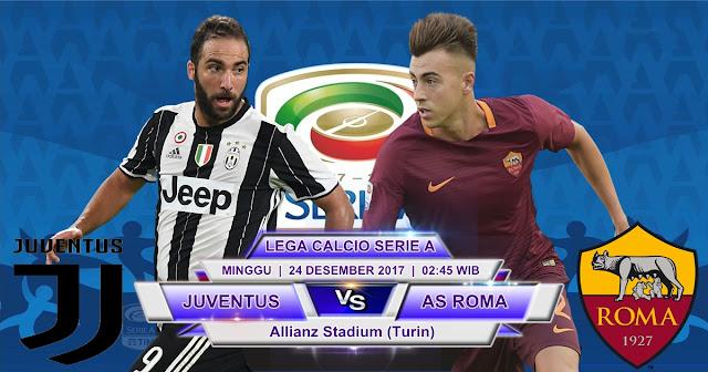 Juventus vs AS Roma 24 Desember 2017