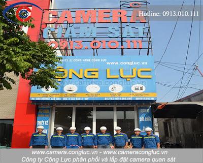 Cung cấp, lắp đặt, sửa chữa camera giá rẻ tại An Kim Hải - Hải Phòng.