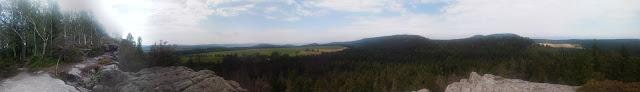 Panorama z Narożnika, Góry Stołowe