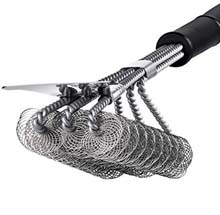 BBQ Bristle Free Grill Brush (18 inches)