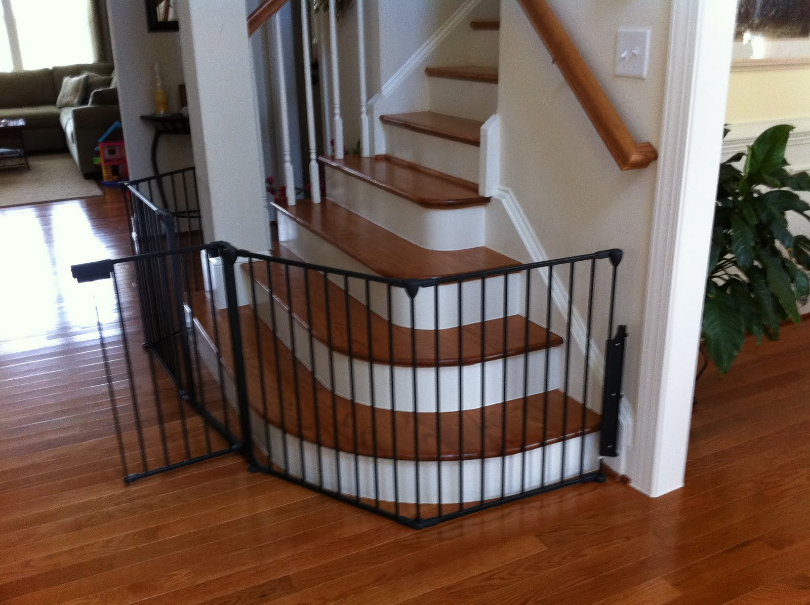 Garman Homes Unplugged Cool Stairs Tricky Gate