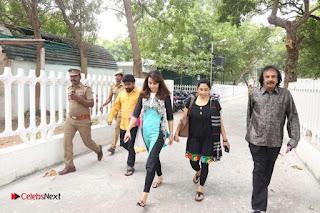 Trisha Paying Homage to former TN CM Late Jayalalitha at Amma Memorial Marina Beach Chennai  0003