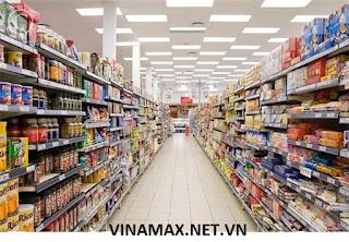 quầy kệ siêu thị