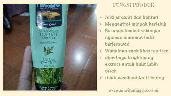 fungsi herborist facial foam tea tree anti acne