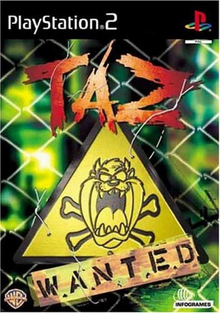 Taz%2BWanted - Taz Wanted | Ps2