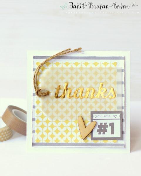 Card by Janet Perafan-Babar: Clique Kits La Dolce Vita 2016 Kit