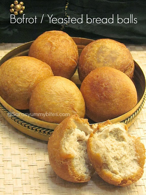 Bofrot / Yeasted bread balls