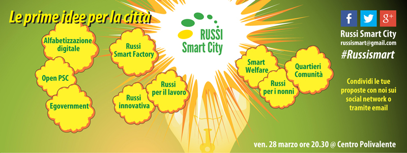 Russi Smart City - Le prime idee per la città - Lisa Cortesi