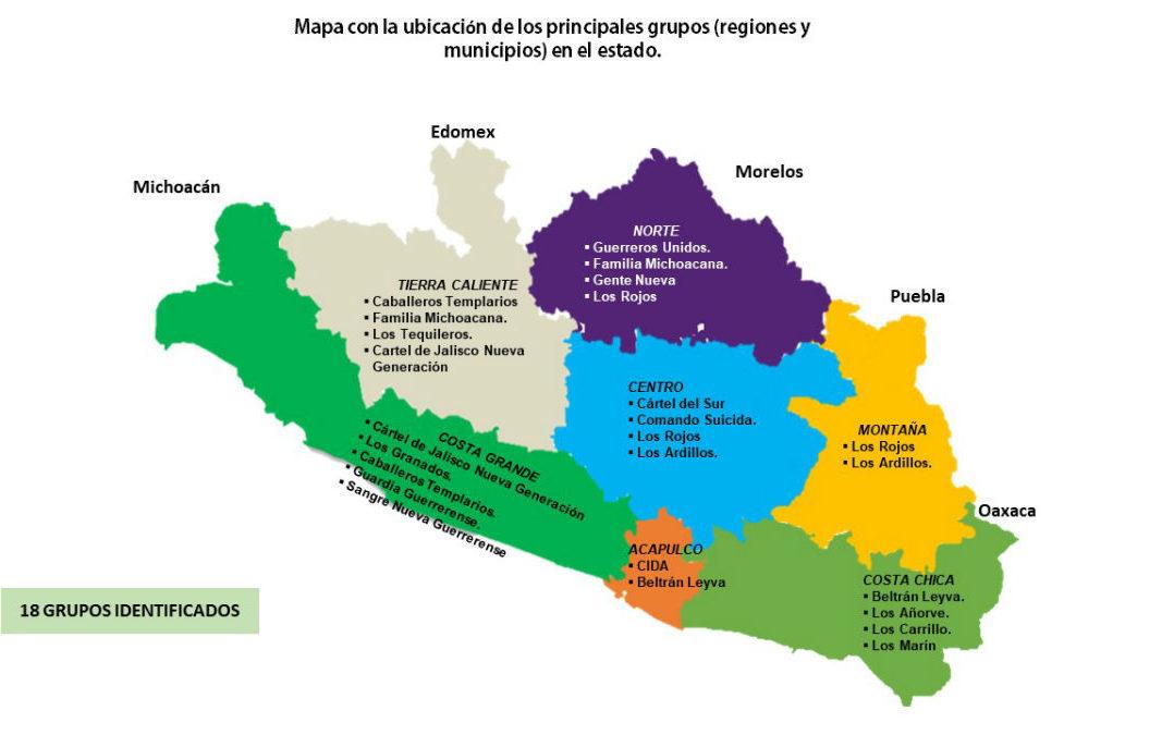 En Guerrero operan 20 grupos de autodefensa y 18 bandas criminales: informe oficial