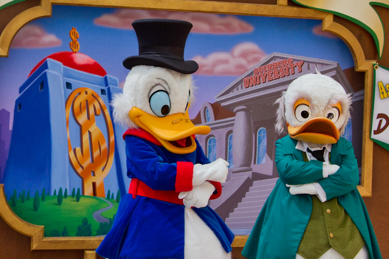 Tales Of The Flowers: Long Lost Friends At Disneyland