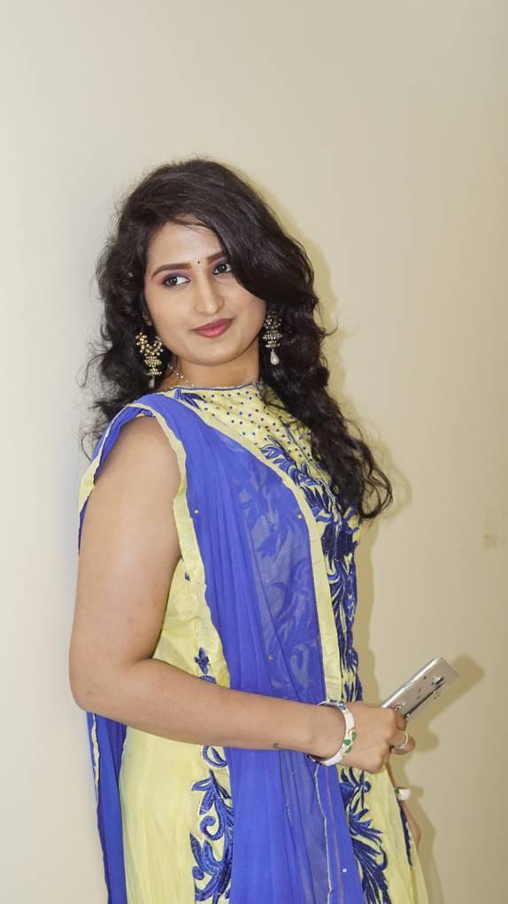 Ankitha Stills At Undha Ledha Movie Promotions Indian