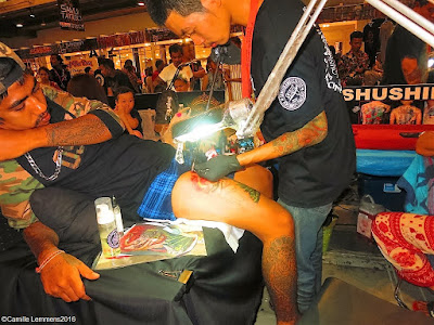 Samui Tattoo Convention at Central Festival