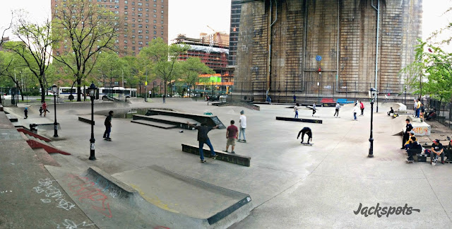 skatepark LES new york