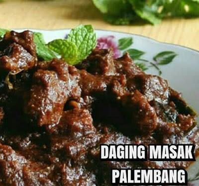 Daging Masak Palembang, Inilah Resepinya