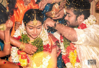 Actress Satna us Karthik Wedding Marriage Stills Pos  0003.jpg