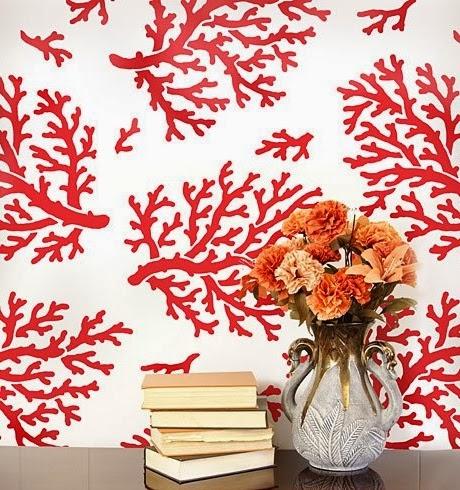 coral stencils