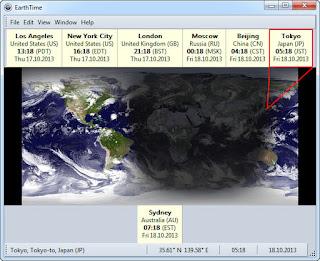 DeskSoft EarthTime 5.5.22 Full Crack