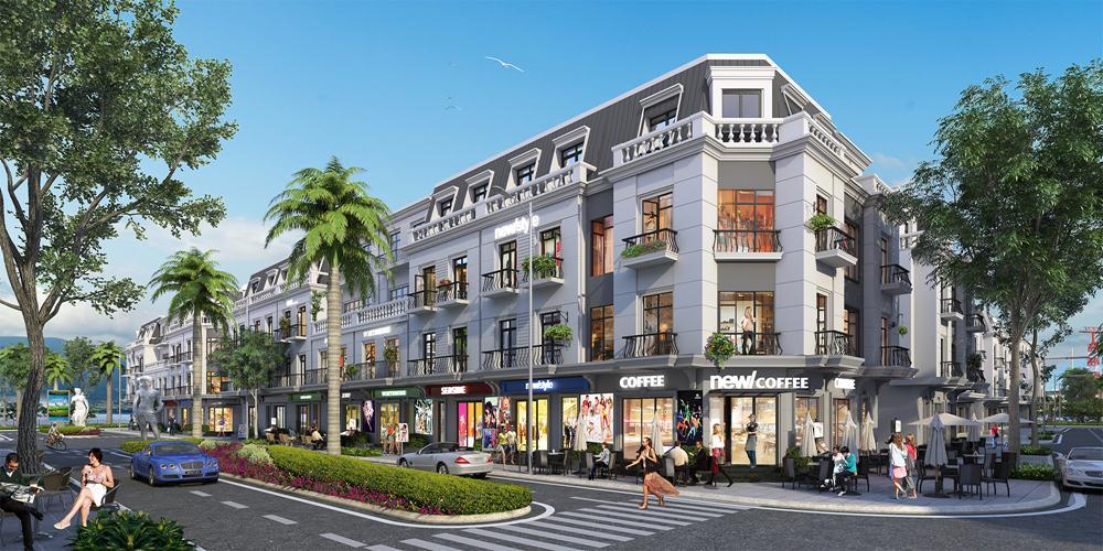 Mô hình shophouse- cơ hội đầu tư mới ở Quảng Ninh
