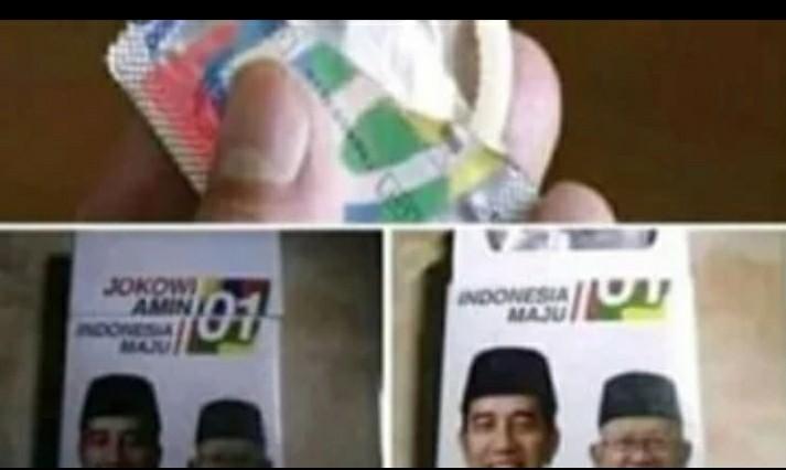 Beredar Alat Kontrasepsi Bergambar Jokowi-Amin, Tim Menampik