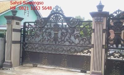 pagar mewah adalah untuk rumah mewah