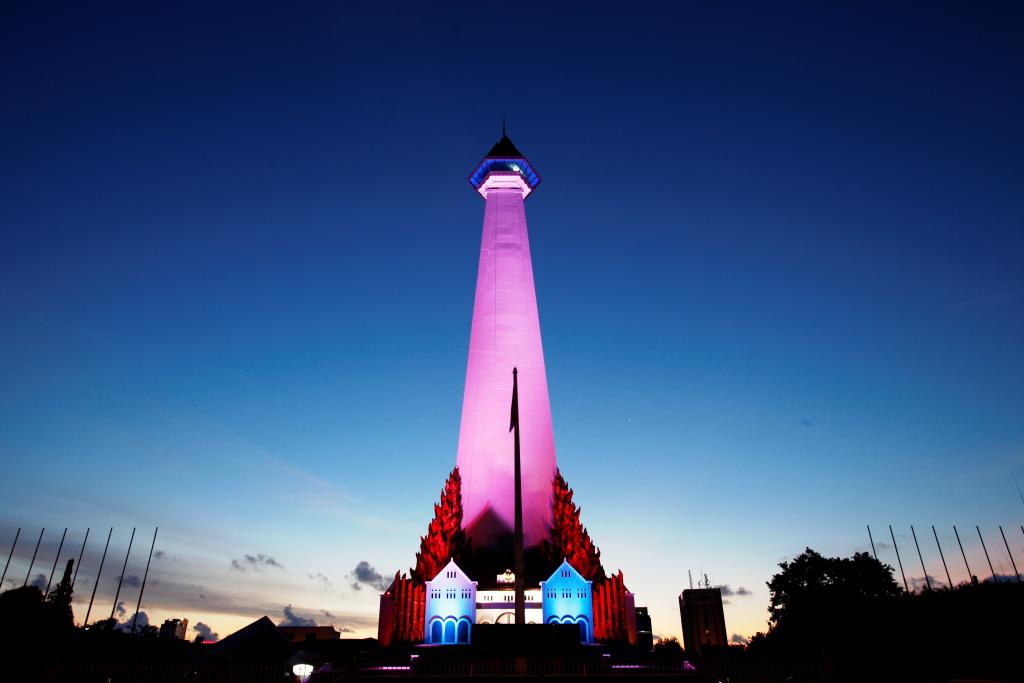 Monumen Mandala di Makassar