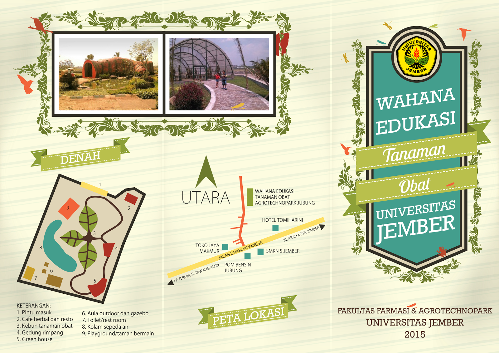 UNEJ, Universitas Jember, Herbal Medicine, Tanaman Obat UNEJ, Agroteknopark UNEJ