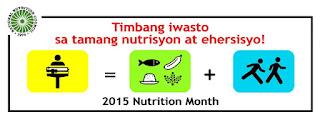 essay timbang iwasto tamang nutrisyon at ehersisyo