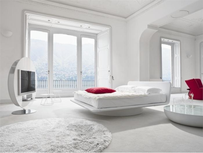 Hogares frescos 14 dormitorios minimalistas y frescos for Dormitorios minimalistas pequenos