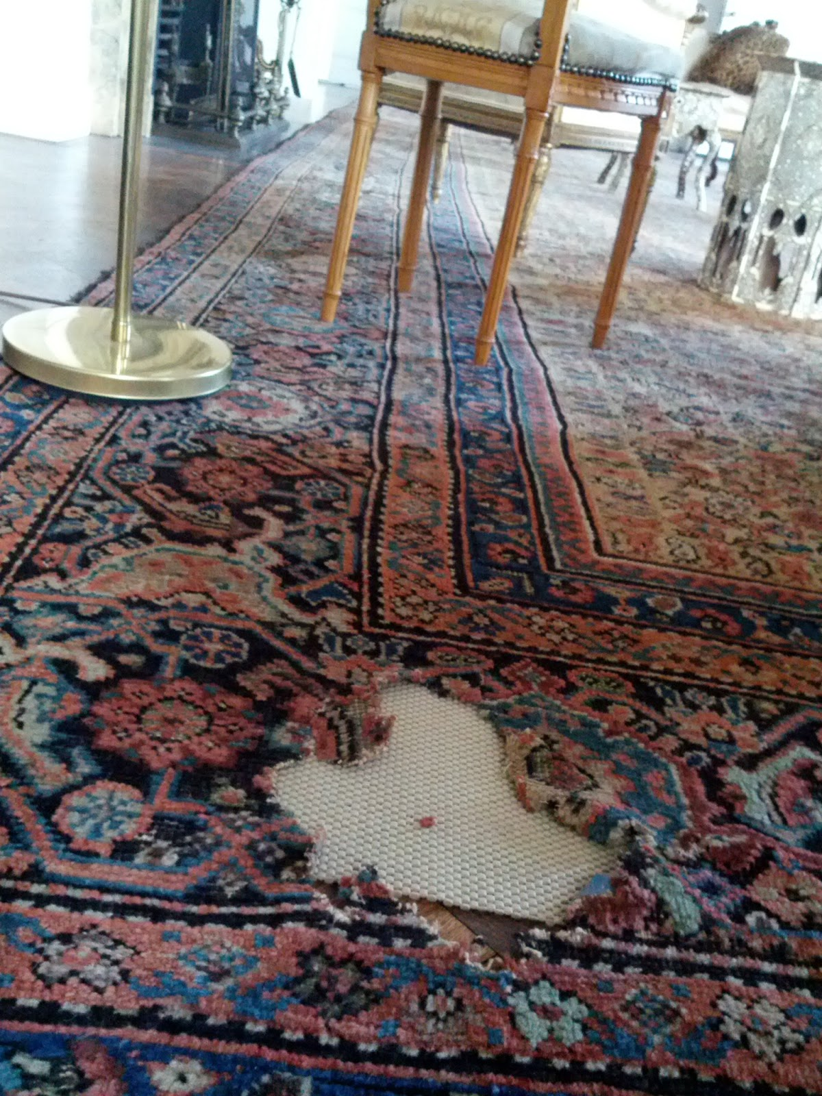 We Will Then Make Sure All Repairs Are Secure And Wash The Entire Rug End Result Should Show Little To No Signs Of Dry Rot Ever Occurring